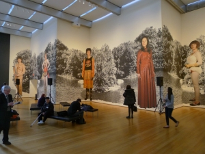 Foto 00-cindy-sherman-at-moma-1-photo mural Untitled 2010
