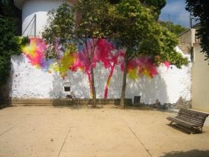 """""""La Buena Sombra"""". Festival STRIP ART.Centre Cívic Guinardó,  Barcelona 2010"""