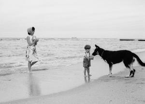Foto 28a-Jackie and John Jr. Palm Beach, 1963