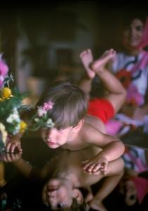 Foto 31a-Jackie and John Jr. Palm Beach, 1963-03