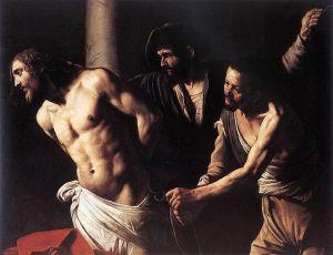 """""""La flagelación de Cristo"""" Caravaggio, 1606-1607"""