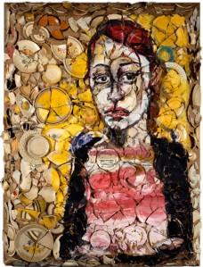 "ulian Schnabel -""Retrato de Lola"""