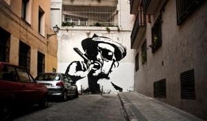 Poesía Bajo el Blanco-Calle San Dimas Madrid 2010-2011