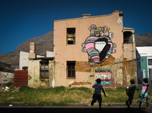 """Diamond Inside""-Woodstock, Cape Town, South Africa 2011"