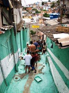 """Proyecto """"Luz nas vielas"""",Favela Vila Brasilandia- Sao Paolo 2012"""