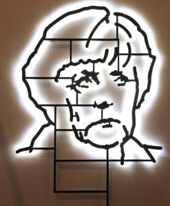 """""""Angela Merkel"""" de la Galerie Peter Kilchmann"""