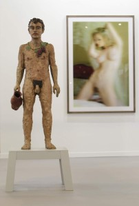 Escultura del artista alemán Stephan Balkenhol