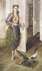 "Dorothea Tanning, ""Birthday"", 1942"