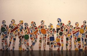 "Tony Cragg ""Menschenmenge"",1986"