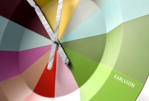 """Slices & Lotus clocks diseñados por Jordi Pla Studio para Karlsson y presentados en el """"Ambiente Fair"""". Frankfurt 2013"""