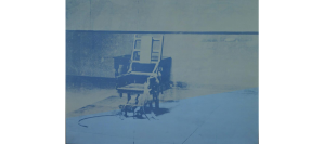 "Andy Warhol ""Big Electric Chair ""1967-68."