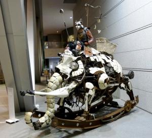 Kenji Yanobe Rocking Mammoth