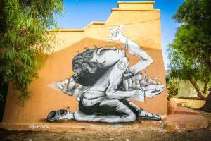 Trabajo del artista brasileño Ethos