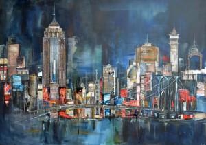 """""""New York"""" por la artista y fotógrafa Anna Allworthy.2011."""