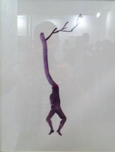 Obra de Mar Herrero en La Galeria Encantada