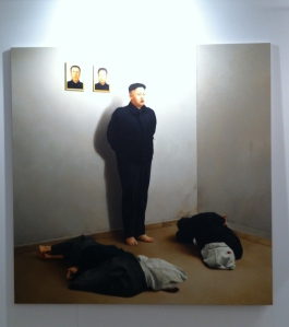 The Execution of Kim Joung-Un de Kepa Garraza en Victor Lope Arte Contemporáneo