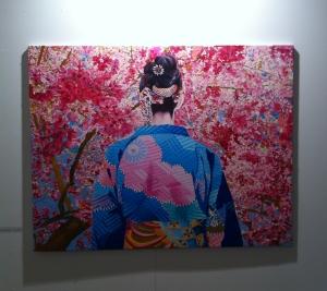 Obra de Alejandra Atarés en Galería Balaguer
