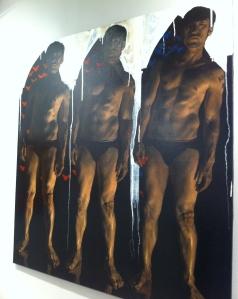 Obra de Alex Folla para Savina Gallery de St.Petersburg