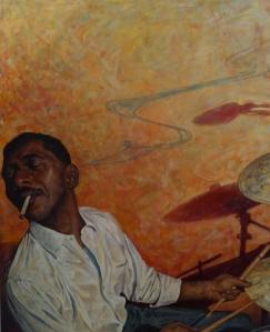 Obra de Pol Serra en Galería Espai G D´Art de Terrassa