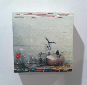 Bodegón sobre Equilibrio de Mario Soria en N2 Galería