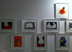 Obras de Kurihara Tadashi para Sun Art Gallery (Shangay)