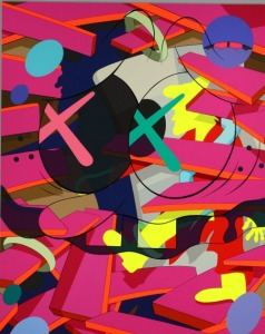 "KAWS (Brian Donnelly). ""Down Time"" - 2011."
