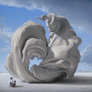"Joel Rea© ""Lady of Monument"" 2010"