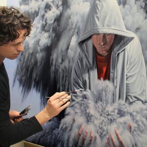 """Pintando """"Forces"""", 2012"""
