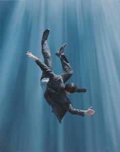 """Joel Rea© """"Transcend Blue ll"""" 2013"""