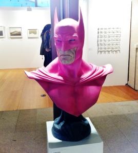 """Álvaro Pérez. """"Batibusto"""" (2014). Fibra de vidrio."""