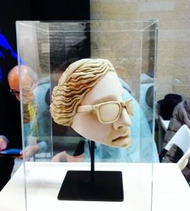 """Javier Vázquez """"Venus"""" 2015. Resina de poliéster."""