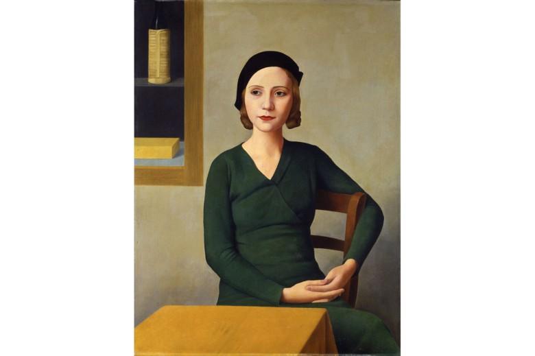 "Antonio Donghi ""Mujer en el Café"" de 1931. ARCHIVIO FOTOGRAFICO/FONDAZIONE MUSEI CIVICI DI VENEZIA."