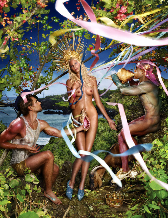 "David-LaChapelle ""Renacimiento de Venus"", 2009-© Cortesía de David-LaChapelle-Studio."