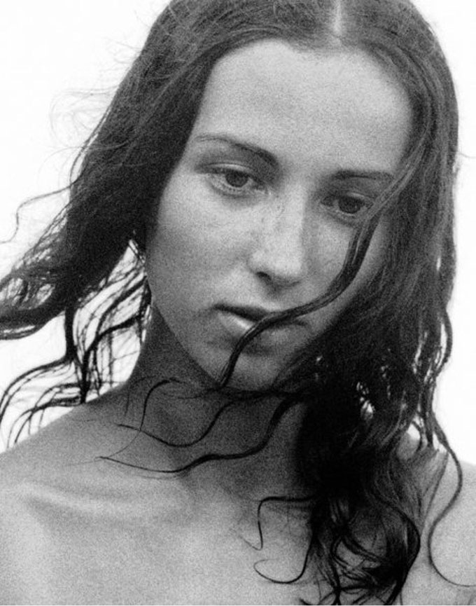 "Paul Himmel ""Botticelli Girl (Patricia McBride), Fire Island, 1950 © Paul Himmel."