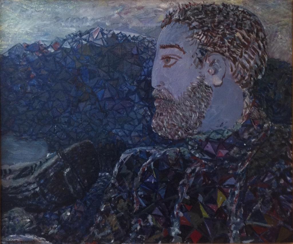 Shipwrecked Sailor, 1929. Óleo sobre tela.