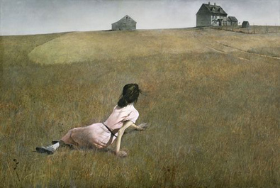 "Andrew Wyeth, ""Christina's World"", 1948. Museum of Modern Art, Nueva York."