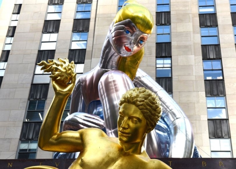 US-ENTERTAINMENT-ART-KOONS-BALLERINA