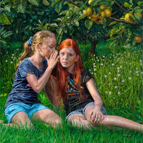 007 Michele del Campo The Apple Tree Oil on Line 2015 Arte Online